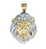 10k Gold Lion PL741 Pendant