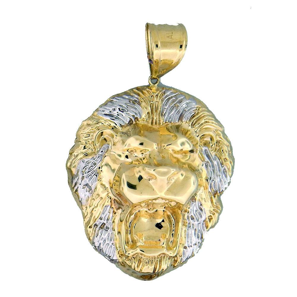 10k gold lion pl749 pendant crazy jewelry 10k gold lion pl749 pendant aloadofball Choice Image