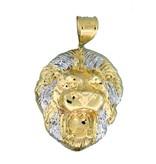 10k Gold Lion PL749 Pendant