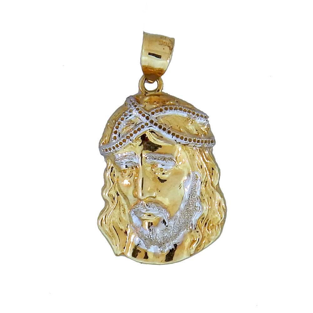 10k Gold Jesus PG545A Pendant