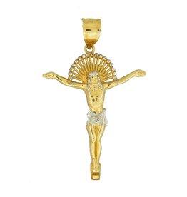 10k Gold Jesus PJ7027 Pendant