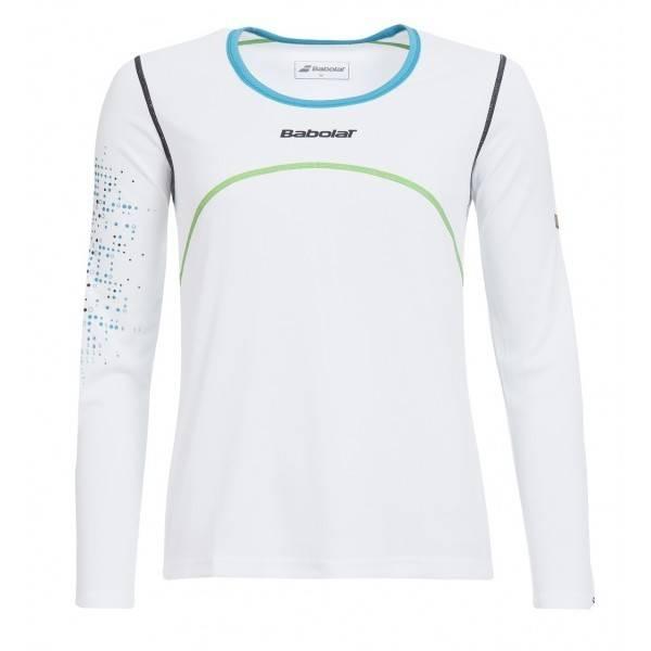 Babolat Long Sleeve Shirt Women White