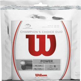 Wilson Champion's Choice Duo (ALU Rough 16L + Natural Gut 16)