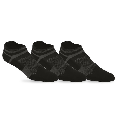 Asics Quick Lyte Black/Dark Grey Socks