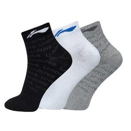 Li-Ning Socks AWSL199-1 (3 pk)