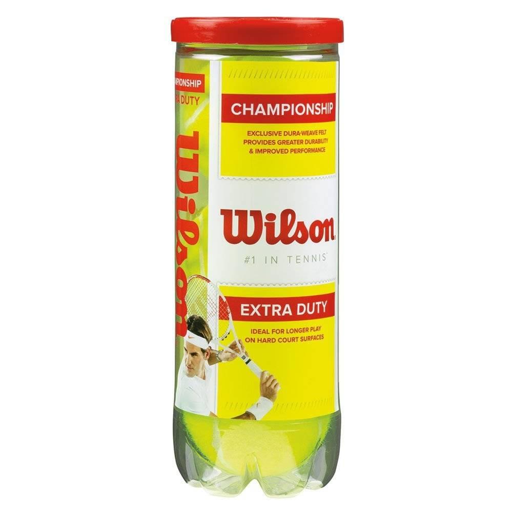 Balles Wilson Championship Extra Duty