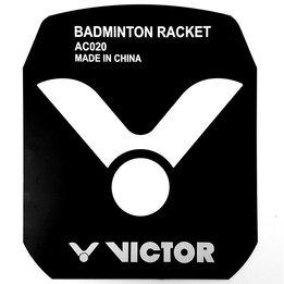 Victor Badminton Stencil