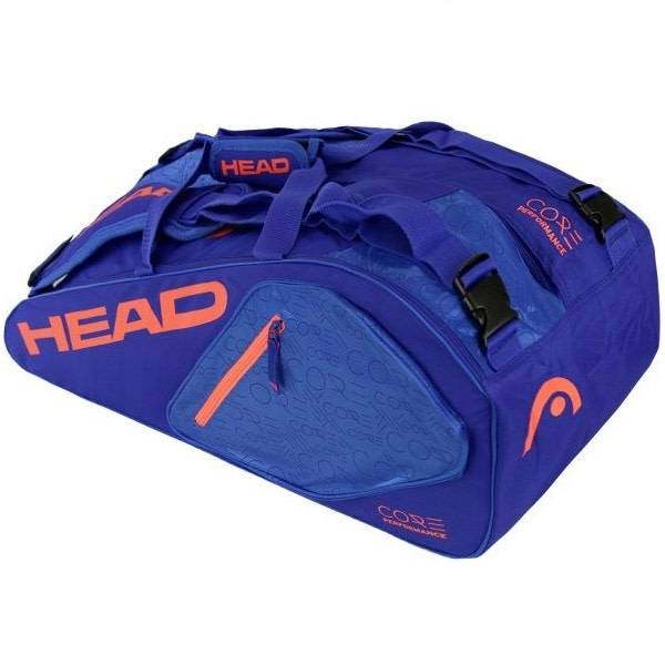 Head Core 6R Fluo Orange Bleu