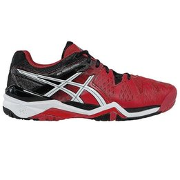Asics Souliers Gel Resolution 6 Homme - Rouge/Blanc