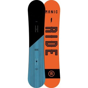 Ride Manic Snowboard Wide