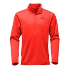 North Face Tech Glacier 1/4 Zip Top Red 2017/2018