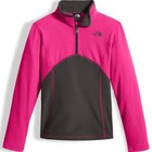 North Face Glacier 1/4 Zip Top Pink 2017/2018