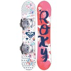 Roxy Poppy Snowboard with Binding