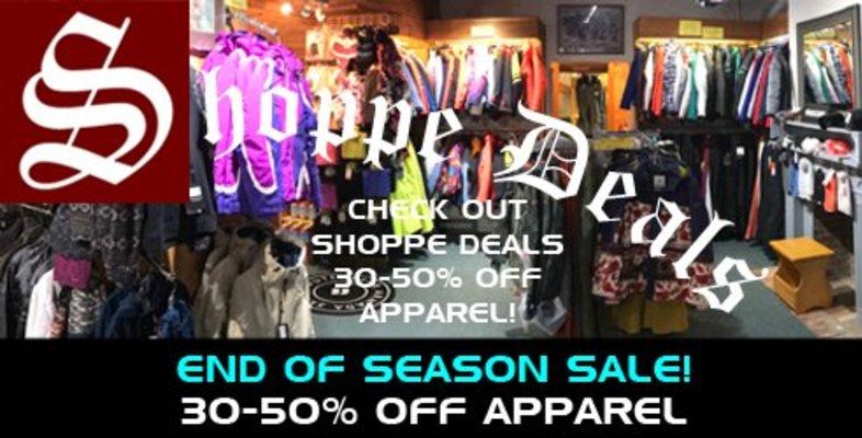 Shoppe Deals - Apparel