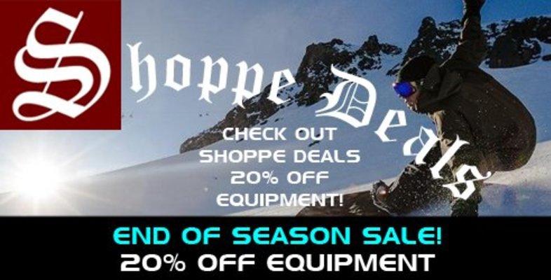 Shoppe Deals - Equipment