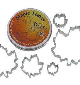 R and M Maple Leaf Cookie Cutter Set