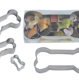 R and M Dog Bone Cookie Cutter Set (4pc.)