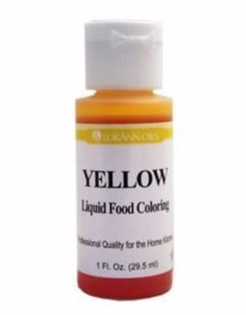 Yellow Liquid Food Coloring