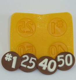CK Anniversary Flexible Mint Molds (4 Cavity)