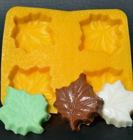 CK Maple Leaf Mint Molds (4 Cavity)