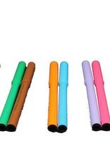 Americolor Corporation 2 Color Gourmet Writers Pen Sets Orange and Black