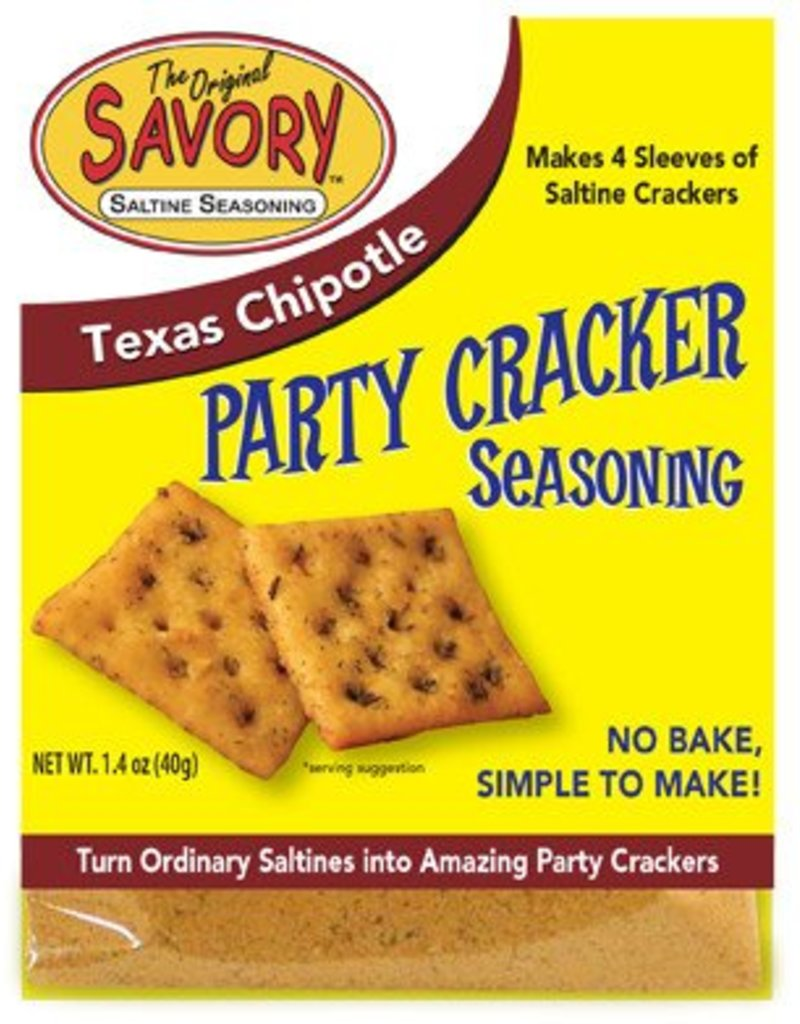 Savory Savory Saltine Seasoning (Texas Chipotle)