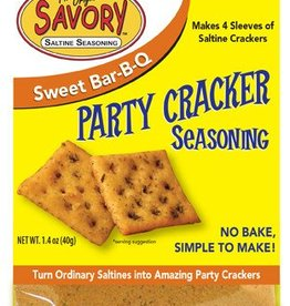 Savory Savory Saltine Seasoning (Sweet BBQ)