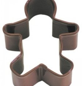 """R and M Gingerbread Boy Cookie Cutter 2.25"""" (coated steel)"""