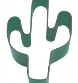 """R and M Green Cactus Cookie Cutter (coated steel) 4"""""""