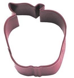 "R and M Red Apple Cookie Cutter 2.5"" (coated steel)"