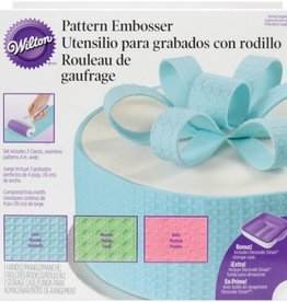 Wilton Pattern Embosser Set - 5pc