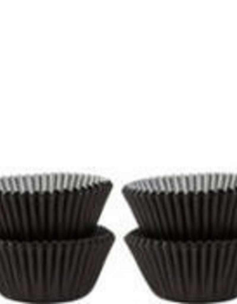 Viking Black Baking Cups (Mini) 40-50ct