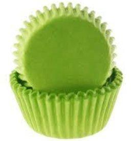 Viking Lime Green Baking Cups Mini (40-50ct)