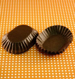 Auction Brown Oval Candy Cups
