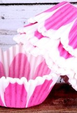 Flower Baking Cups (Pink)