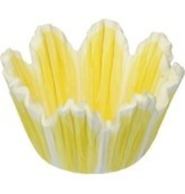 CK Yellow Flower Mini Baking Cups (40-50ct)