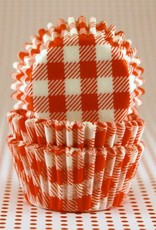 CK Red Gingham Baking Cups Mini (40-50ct)