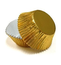 CK Gold Foil Mini Baking Cups (40-50ct)