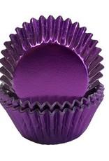 Viking Purple Foil Mini Baking Cups (40-50ct)