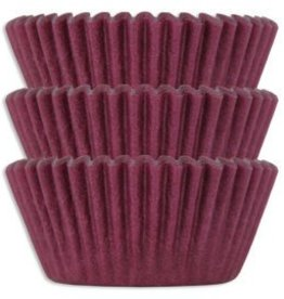 Viking Burgundy Baking Cups Mini (40-50ct)