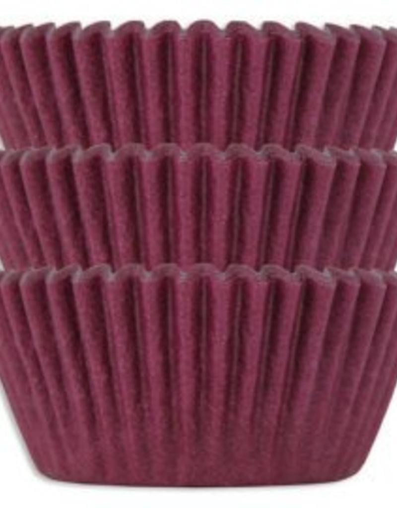 Viking Burgundy Baking Cups Mini (40-50ct)