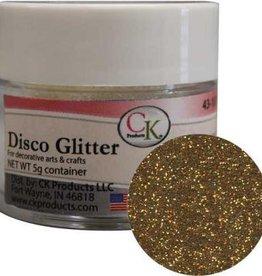 DISCO GLITTER - AMERICAN GOLD