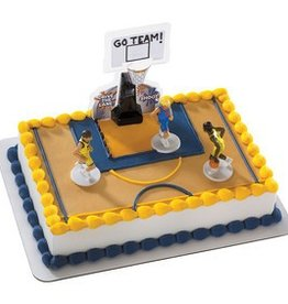 Decopac All Net - Basketball Cake Topper Set