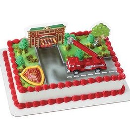 Decopac Fire Truck Cake Topper