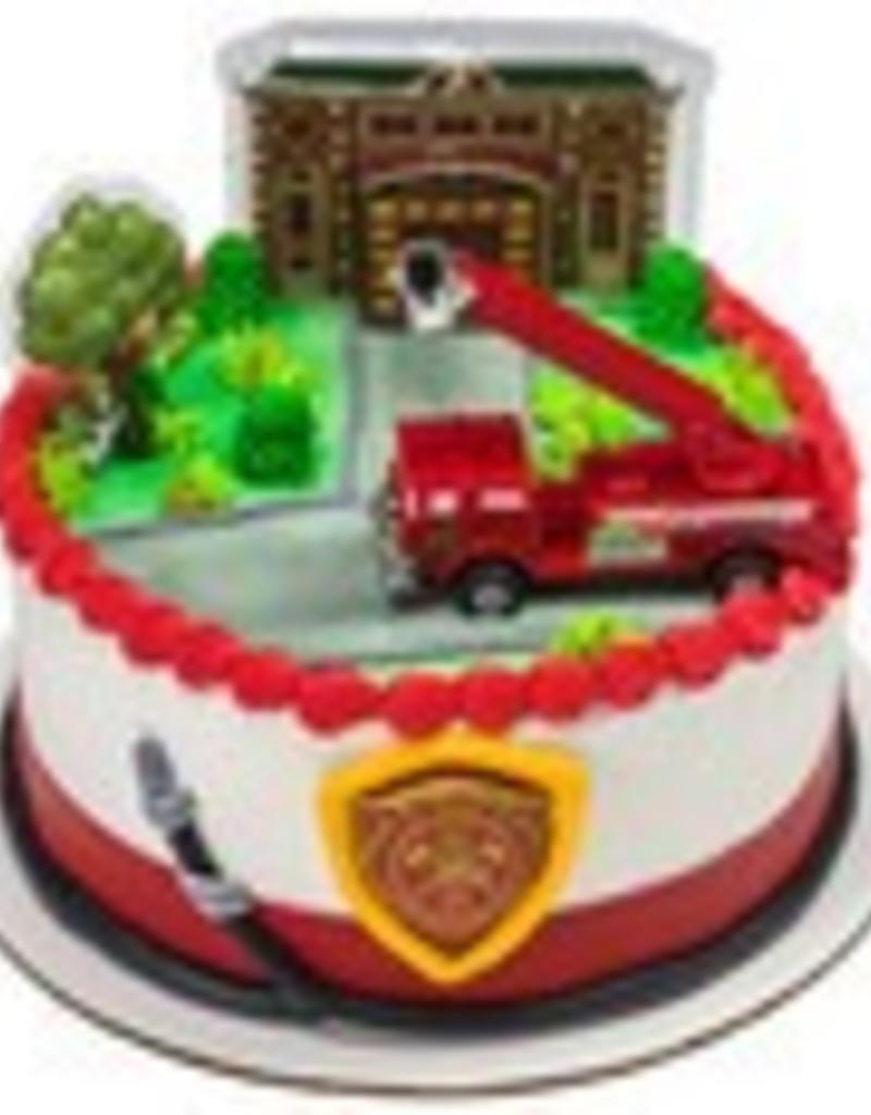 Decopac Fire Truck Cake Topper