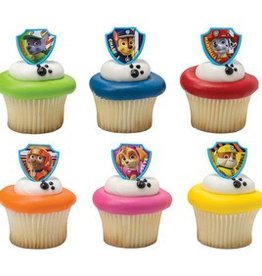 Decopac Paw Patrol Ruff Ruff Rescue Cupcake Rings(pkg of 12)