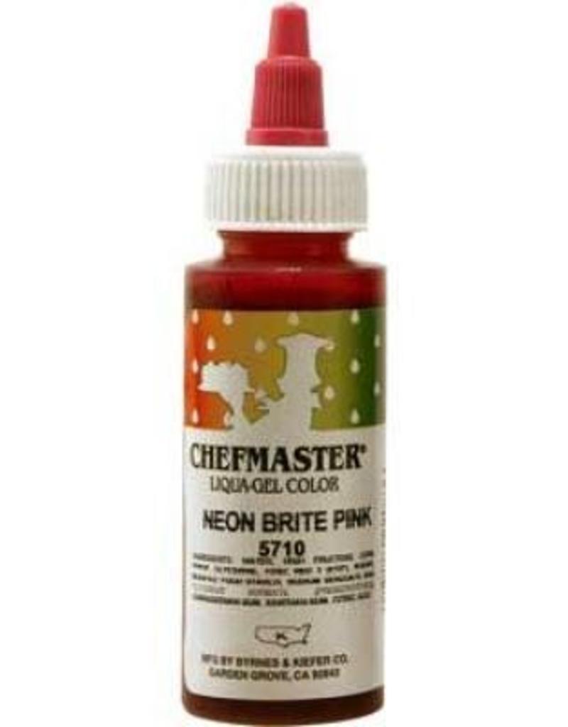 Neon Pink Chefmaster Liqua-gel 2.3 ounce