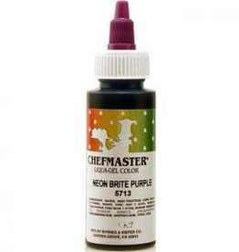 Neon Purple Chefmaster Liqua-gel 2.3 ounce