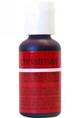 Christmas Red Chefmaster Liqua-gel 3/4 ounce