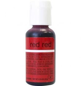 Red Red Chefmaster Liqua-gel 3/4 ounce